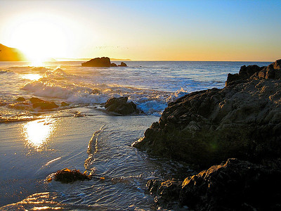 Sunrise California Leo Carrillo State Park