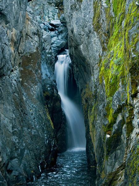 Falls on Hayfork Creek, Sierra City, CA