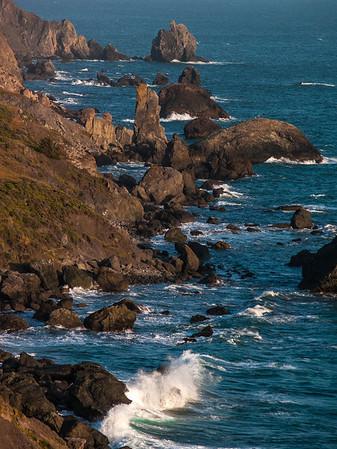 California Coast near Slide Ranch
