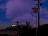 The view from our motel in Crescent City. This is the Battery Point Lighthouse.<br /> Photo © Cindy Clark
