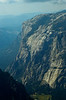 El Capitan, the iconic wall of Yosemite viewed from the summit of Half Dome.<br /> Photo © Carl Clark