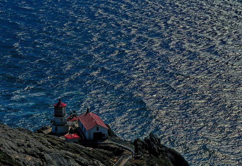 Point Reyes Lighthouse.<br /> Photo © Carl Clark