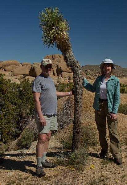 From left:  Carl Clark, Joshua A. Tree, Cindy Clark.<br /> Photo © Cindy Clark
