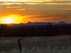 Sutter Buttes Sunset from Big Ben Road 1