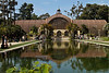 The Botanical Building at Balboa Park in San Diego houses over 2,000 plants and is one of the largest lath structures in the world.<br /> Photo © Cindy Clark