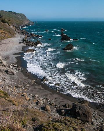 Coastline near Slide Ranch - Northern California