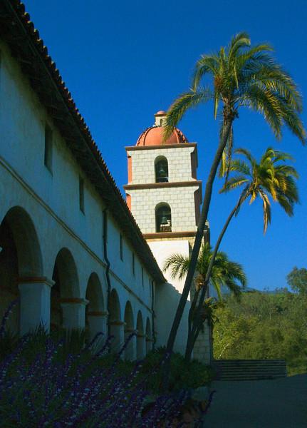 Bell Tower Mission Santa Barbara
