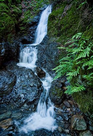 Uvas Canyon Waterfall