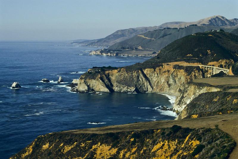 Calmness reigns along the Big Sur coast.<br /> Photo © Carl Clark