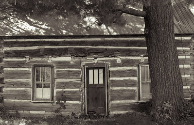 Log Home Roadside