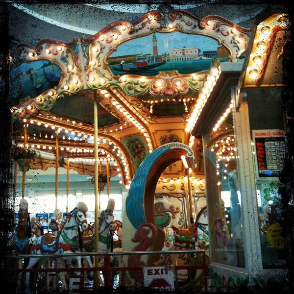 Carousel at mall #carousel