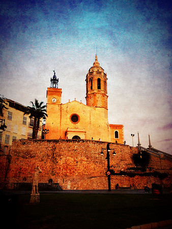 October in Sitges