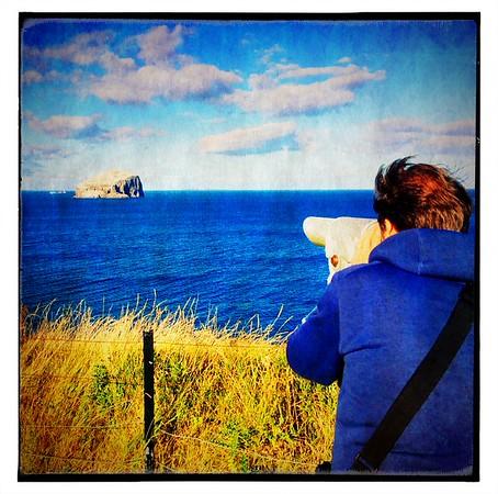 I spy the Bass Rock