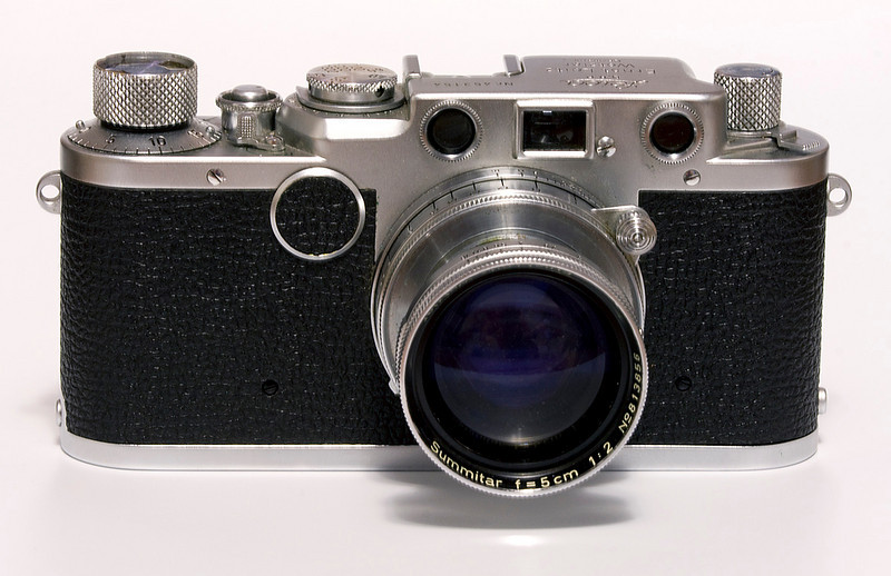 A Leica IIf (this copy was made in 1951).<br /> <br /> This camera was given to me by my brother in law. It was purchased in Czechoslovakia by my wife's father (who I had never met as he passed away before I met her) when he was still living there. When he left Czechoslovakia for Canada, the camera was one of the few things he brought with him.<br /> <br /> Some day I will pass it on to my son.