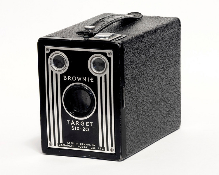 Kodak Brownie Target six-20 (1946-1952).<br /> <br /> This particular Target six-20 was made in Canada.