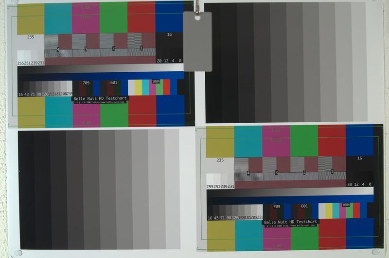 © Karsten Pawlik  Lumolabs noise test chart for Nikon D5000 at 2800°K and ISO 100.