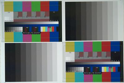 © Karsten Pawlik  Lumolabs noise test chart for Nikon D700 at 2800°K and ISO 12,800.