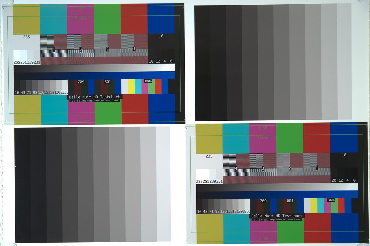 © Karsten Pawlik  Lumolabs noise test chart for Nikon D700 at 2800°K and ISO 100.