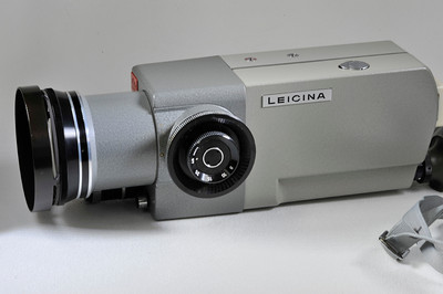 Leicina with fitted case and manual. Mint minus.