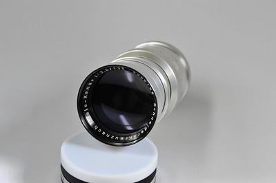 135mm f3.5 TeleXenar in LTM. Mint minus. incorrect front cap.