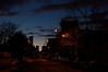 Sunset. City Hall