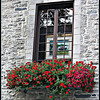 Summer Window, Quebec City   <b>Copyright ©2009 Florence T. Gray. This image is protected under International Copyright laws and may not be downloaded, reproduced, copied, transmitted or manipulated without written permission.</b>