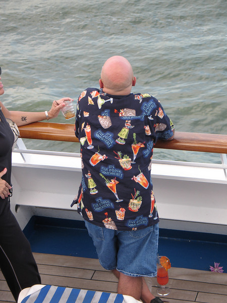 Our Shipmates, Nova Scotia Cruise<br />  <br /> Rick and I thought that a cruise might be fun and that we might meet some interesting people.<br /> <br /> It wasn't.  We didn't.