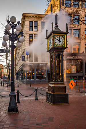 The Steam Clock
