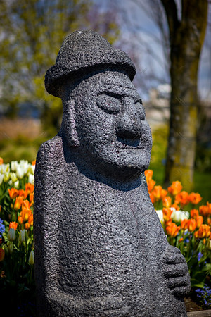 canadian and korean friendship statue