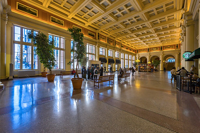 The Canadian Pacific Railway Station