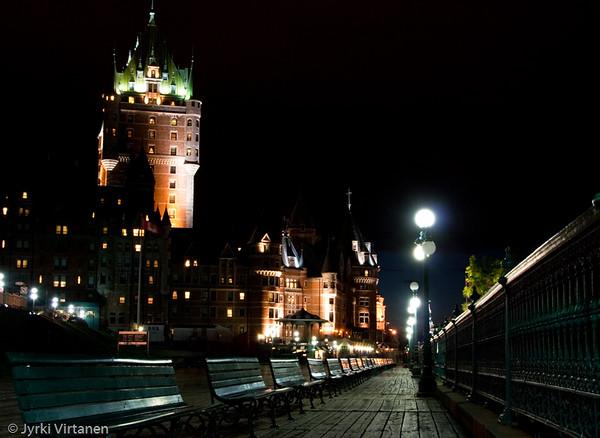 Château Frontenac Hotel - Quebec City, Canada