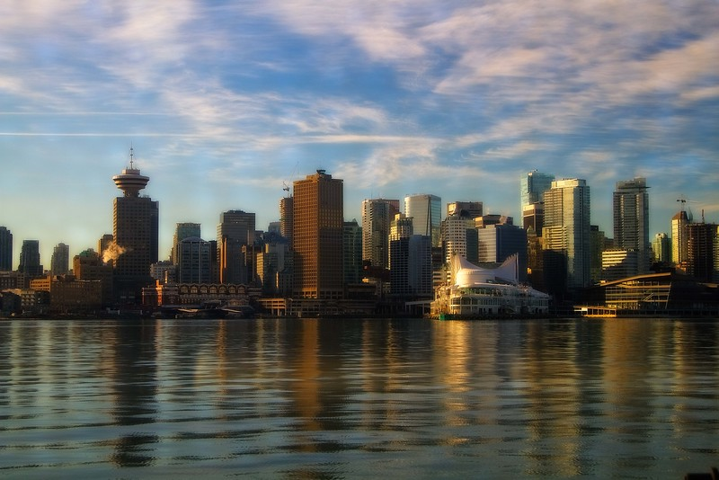 View from the ferry coming from North Vancouver.<br /> Photo © Carl Clark