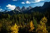 Our view from our motel in Canmore, Alberta.<br /> Photo © Cindy Clark