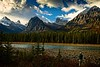 As good as it gets! Carl captures a magnificent scene in the Canadian Rockies.<br /> Photo © Cindy Clark