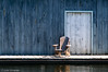 A Chair by a Boatshed - Lake Muskoka, Canada