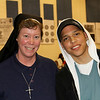 Marco and Sister Mary Chapman. Sister was the principal of St Cyril of Alexandria in East Lansdowne where marco attended grade school. It's a small world!