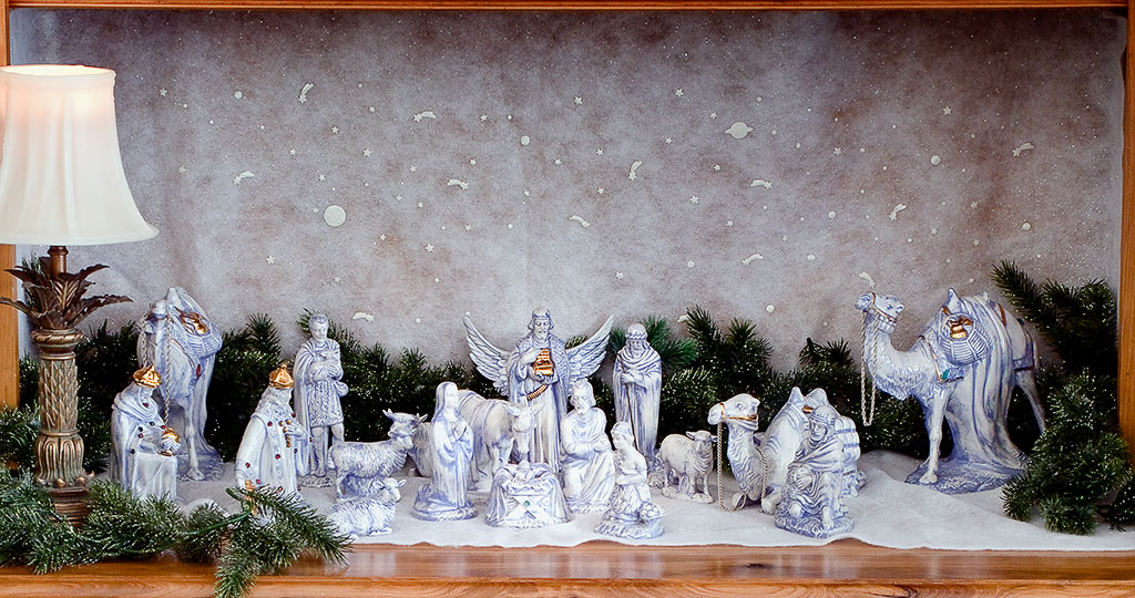 Nativity scene at Ski Side