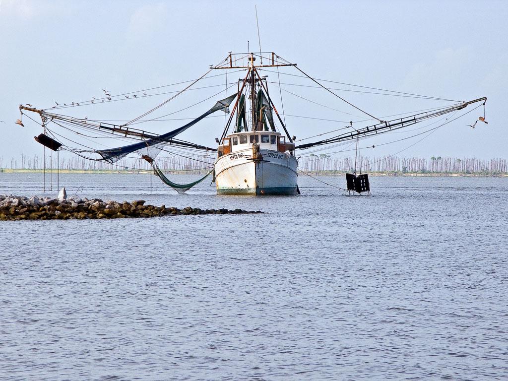 Shrimp boat in Ocean Springs