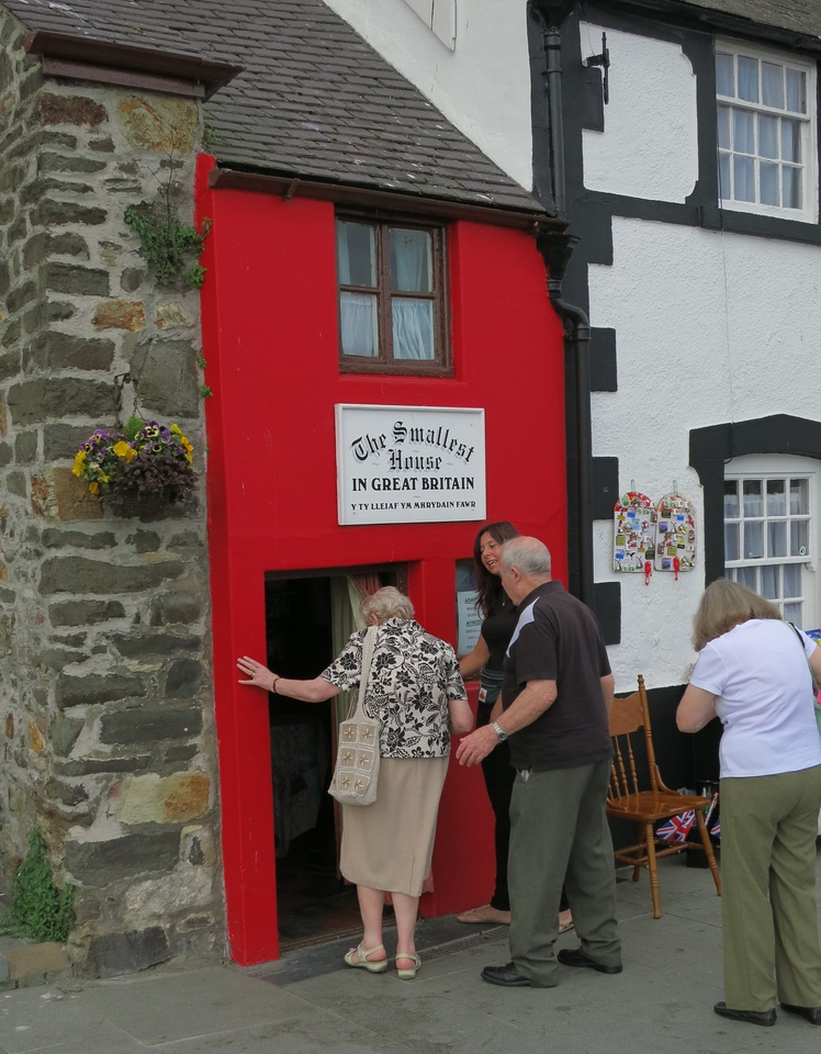 Smallest house in Wales: Conwy