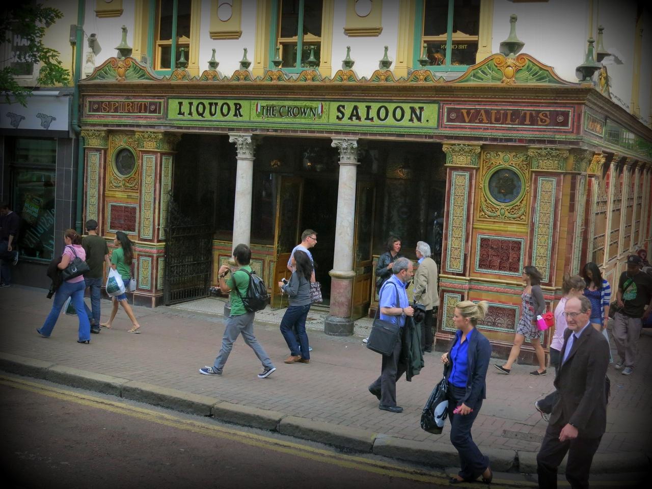 "Crown Bar - Belfast's ""most beautiful bar"""