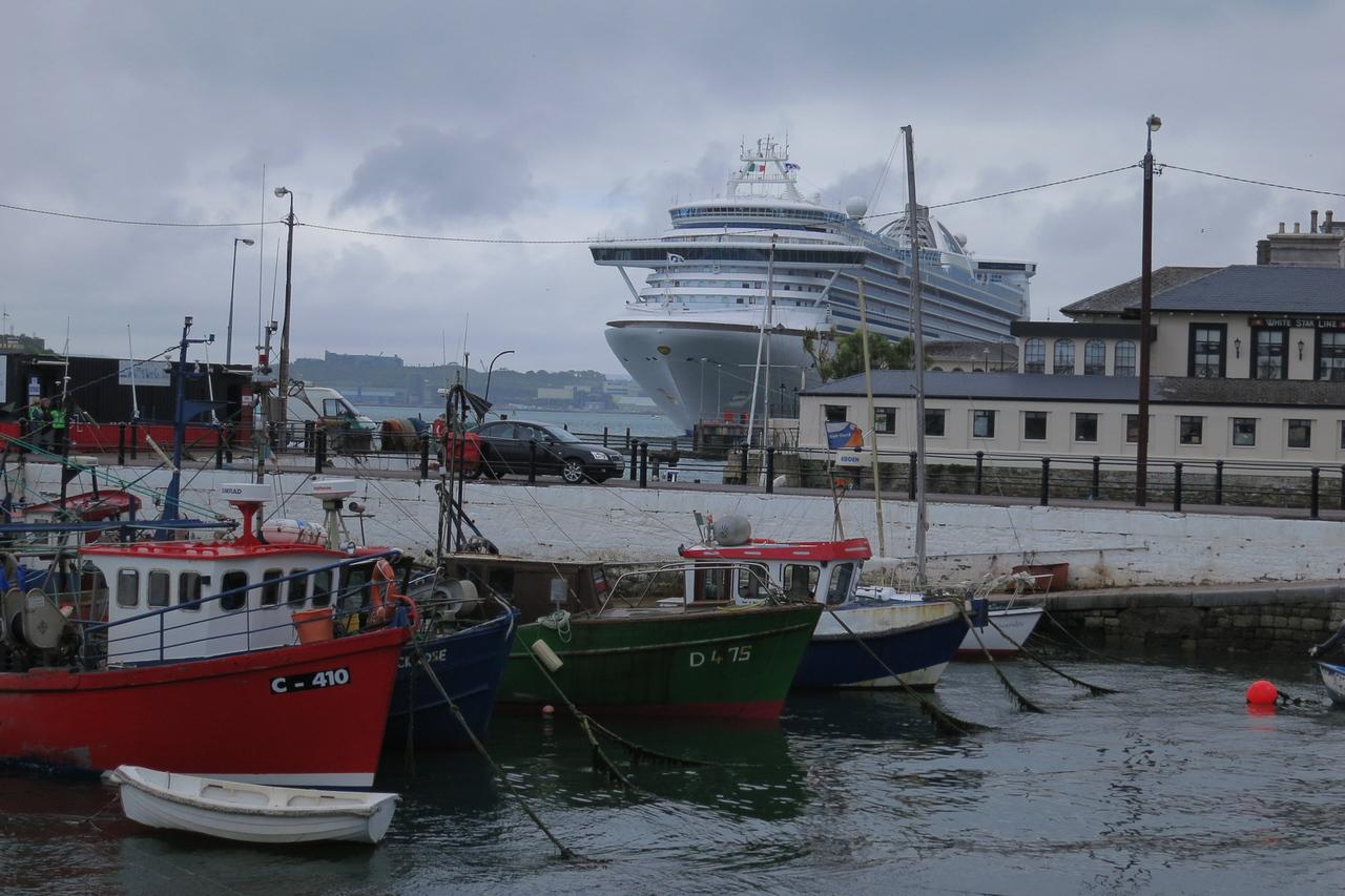 Big Ship in a small port