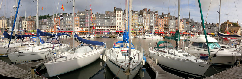 Harbor in Honfleur, France
