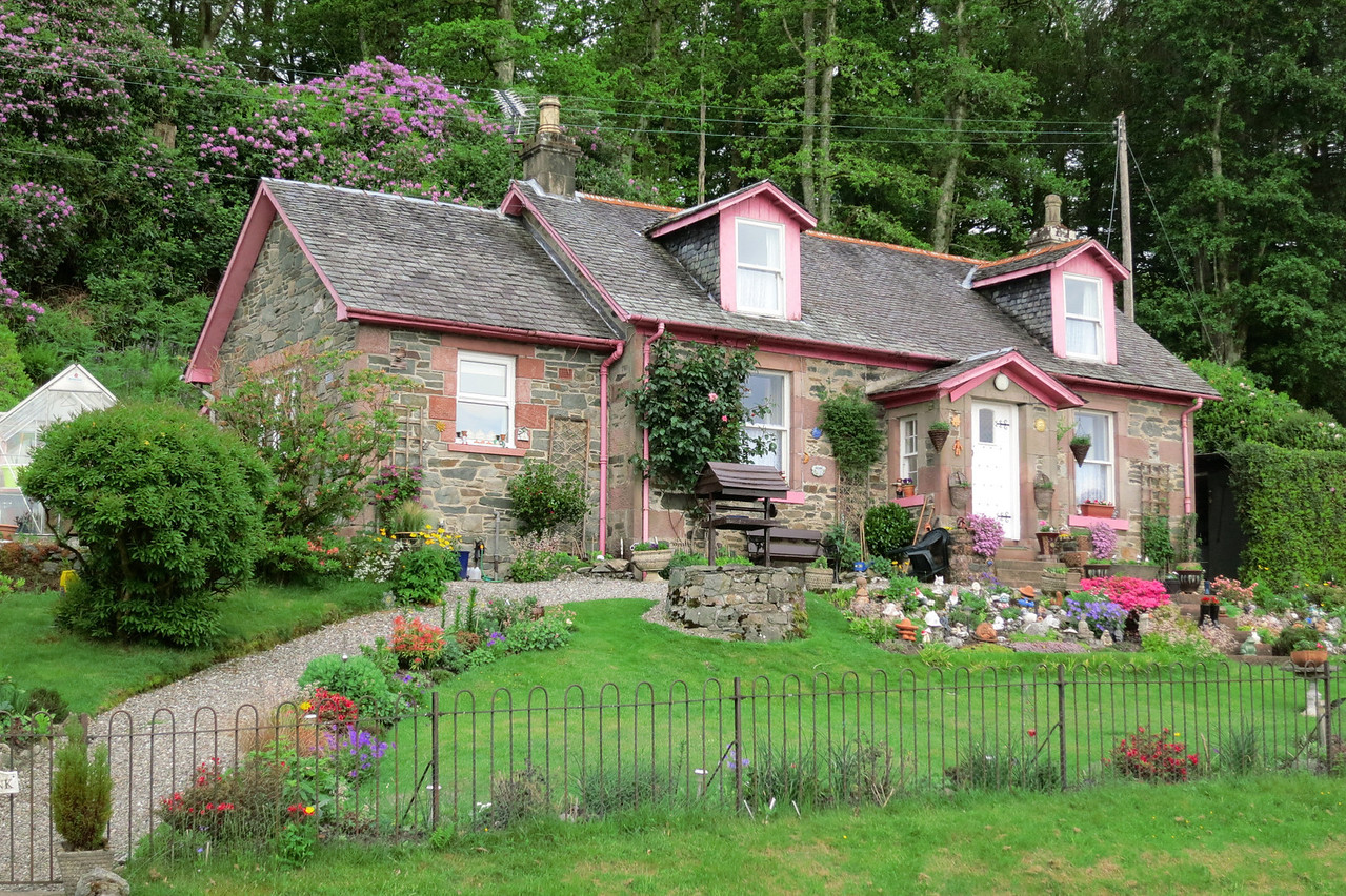cottage near Loch Lomond