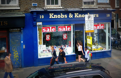Shopping at Knobs and Knockers
