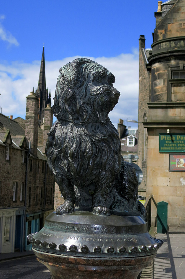 Greyfriars Bobby - dog stood vigil for 14 years after his master died
