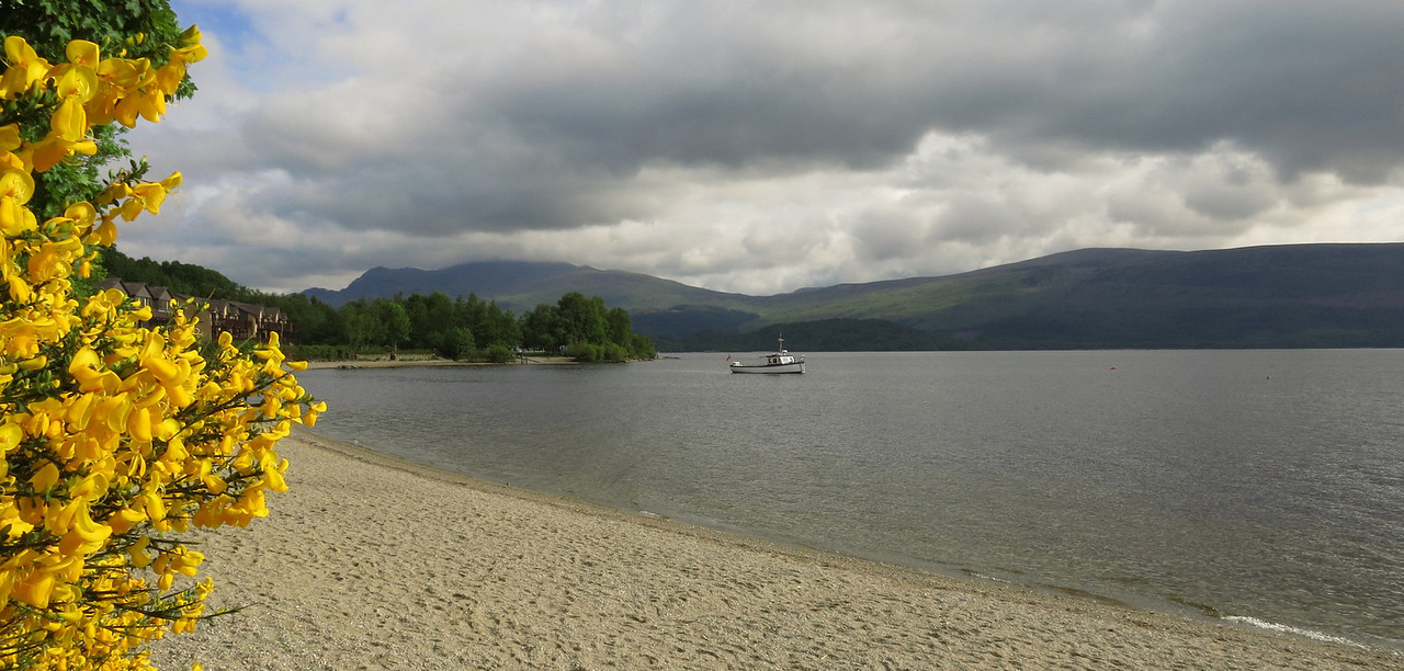 Loch Lomond, from Luss, Scotland
