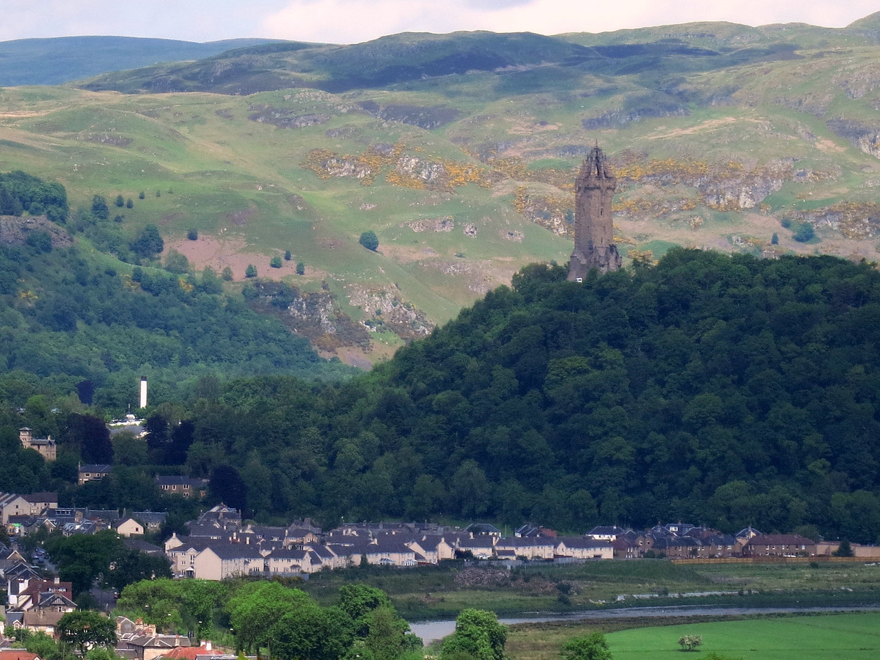 Monument to William Wallace (Braveheart). Constructed in the 1860s.