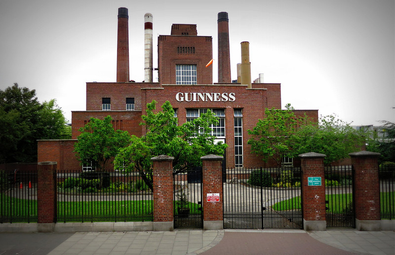 Guiness Brewery - covered many acres of land