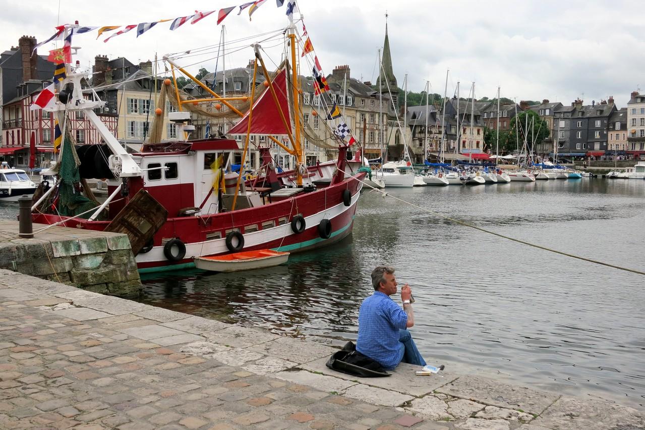 Harbor in Honfleur, France