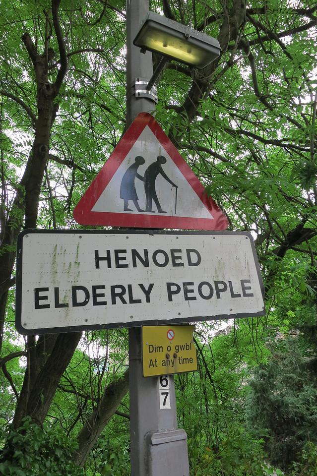 Old Folk Crossing